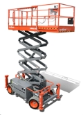 Rental store for Scissor Lift, Rough Terrain, 4x4 in Prince George BC